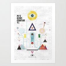 Escapulario Art Print