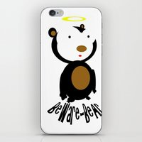 Beware Bear iPhone & iPod Skin