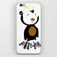 Beware Bear iPhone & iPod Skin