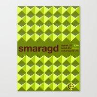 smaragd single hop Canvas Print