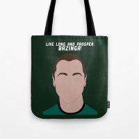 Live Long And Prosper, B… Tote Bag