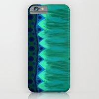 Blue Lotus Petals iPhone 6 Slim Case