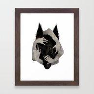 Wild Dog Framed Art Print