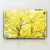 Yellow Splendor iPad Case