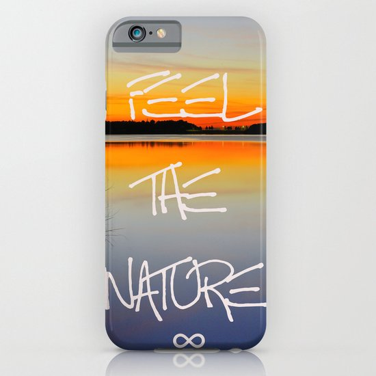 Feel the nature infinity ∞ iPhone & iPod Case