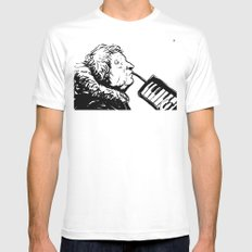 Eyeless White Mens Fitted Tee SMALL