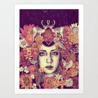 Efflorescence Art Print