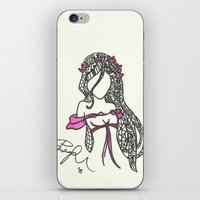 Giselle Zen Tangle iPhone & iPod Skin