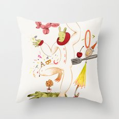 Tools for Playing Throw Pillow