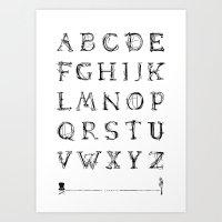 ABC - Lamenta Art Print