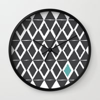 Diamond Back Wall Clock
