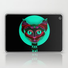 Black CAT- Black Laptop & iPad Skin