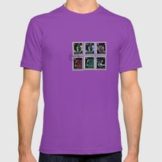 Fear Not Mens Fitted Tee Ultraviolet SMALL