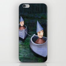 Drifting Down Stream iPhone & iPod Skin