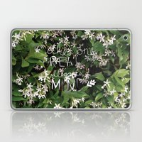 elegance is in the mind Laptop & iPad Skin