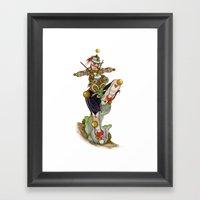 Uru Taquitzl, Ritual Dan… Framed Art Print