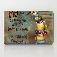 May Your Cup Runneth Over iPad Case