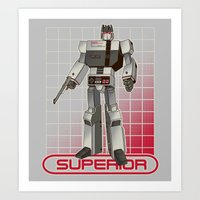 Superior Entertainment System Art Print