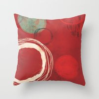 At The Centre Of It All Throw Pillow