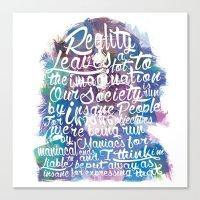 Lennon Reality Canvas Print