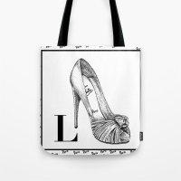 L is for Louboutin La Deuxieme Tote Bag