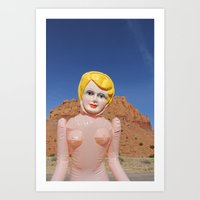 Judy Does New Mexico Art Print