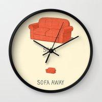 Sofa Away Wall Clock