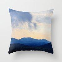 Dark Hills Throw Pillow