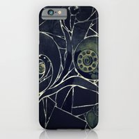 iPhone & iPod Case featuring Black Abstract by KunstFabrik_StaticMovement Manu Jobst