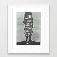 GRAAACE JONES Framed Art Print