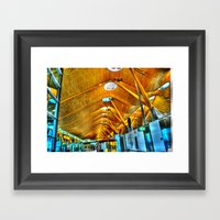 Madrid Airport Framed Art Print