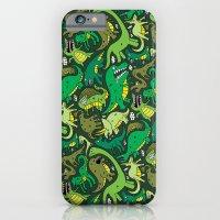 Dino Pattern iPhone 6 Slim Case