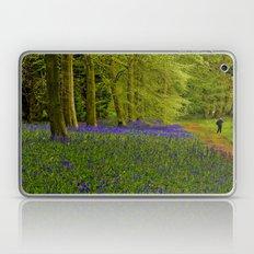 Bluebell Wood Walkway Laptop & iPad Skin