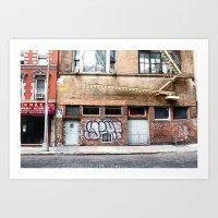 Chelsea, NYC Art Print