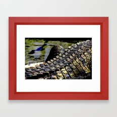 Danger Framed Art Print