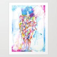 self study Art Print