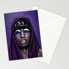 Purple Swag Stationery Cards