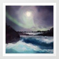 Art Print featuring Winter Inspiration by Viviana Gonzalez
