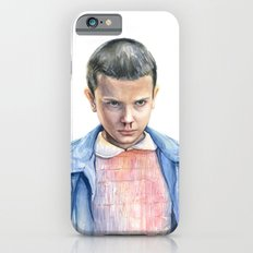 Eleven Stranger Things Watercolor Portrait Slim Case iPhone 6s