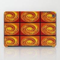 Abstract Collage Orange Art. iPad Case