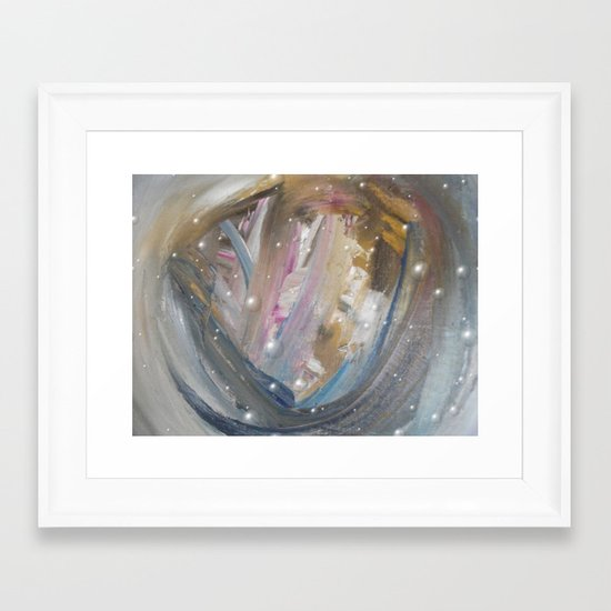 Upperworld Framed Art Print
