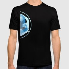 the bright side Mens Fitted Tee Black SMALL