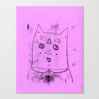 Gato Canvas Print