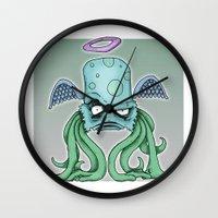 Space Alien Sci Fi Art B… Wall Clock