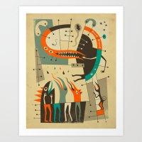 Tree Of Knowledge Art Print