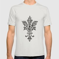 Blume Mens Fitted Tee Silver SMALL