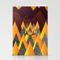 Light Of The Mountains Stationery Cards