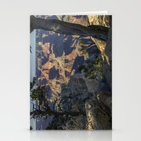 The Grand Canyon and Trees. Stationery Cards