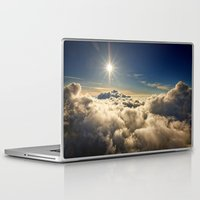 clouds Laptop & iPad Skins featuring clouds by 2sweet4words Designs