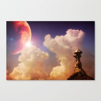 Astral Vision Canvas Print